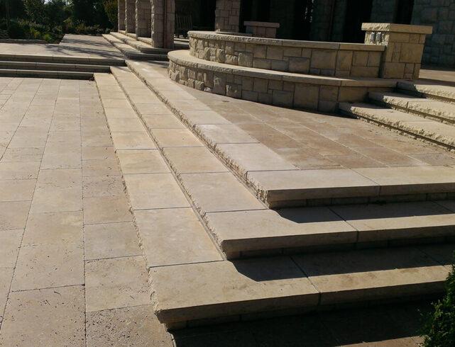 Brick driveway installation/stone fence column installation/brick walkway/paver patio/paver pool patio installation/stone stairway installation/driveway installation in Wichita, KS